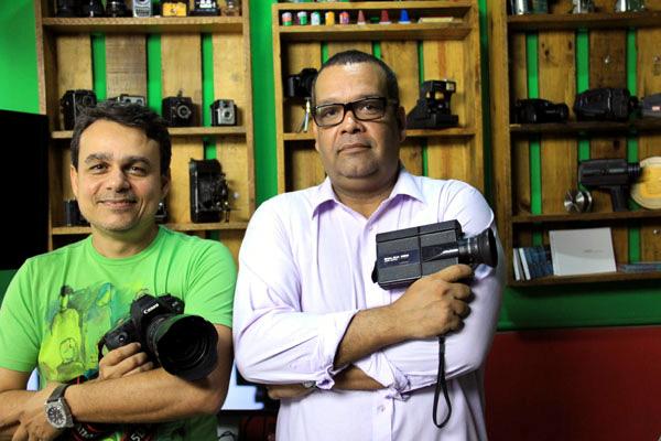 Henrique José e Fábio Desilva Foto: Rayane Mainara